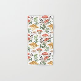 Woodland Mushrooms & Hedgehogs Hand & Bath Towel