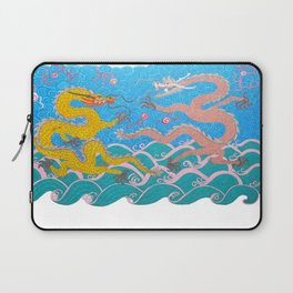two imperial dragons Laptop Sleeve
