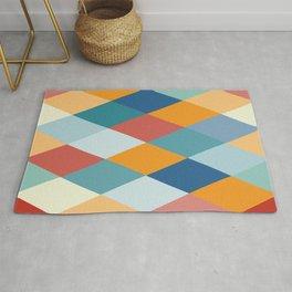 Colorful Geometry VIIB Rug