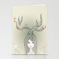 witch Stationery Cards featuring witch by Catpurrrs