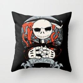 La Muerte jack Throw Pillow