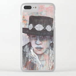 Stevie Ray Vaughan - Couldn't Stand the Weather Clear iPhone Case