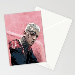 Lil Peep Pink Stationery Cards