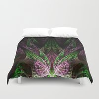 crown Duvet Covers featuring Crown by TenelArt