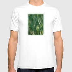Meadow Reverie Mens Fitted Tee White MEDIUM