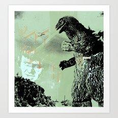 Habitat G. Art Print