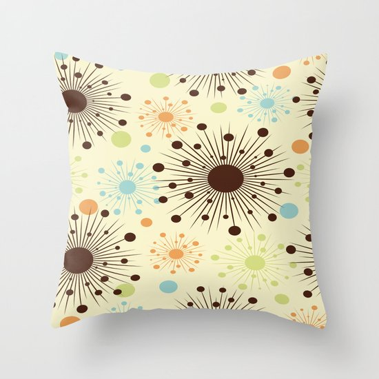 Abstract Pattern III Throw Pillow