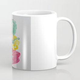 Stacked Peppers Coffee Mug