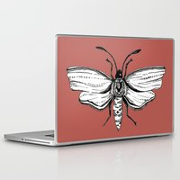 moth Laptop & iPad Skins featuring Moth  by Aubree Eisenwinter