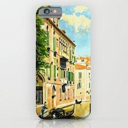 Venezia - Venice Italy Vintage Travel iPhone Case