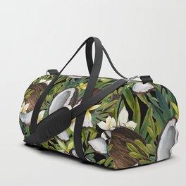 Watercolor vanilla & coconut Duffle Bag