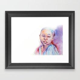 Why . . .  Framed Art Print