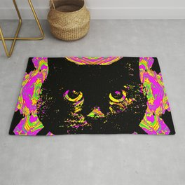 Purple Streak Quad Cat Rug