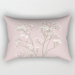 Baby's Breath 2 Rectangular Pillow