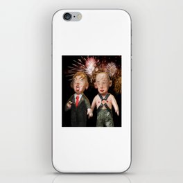 Donald & Vladimir. We Did It! One Year Anniversary. 11.8.2017 iPhone Skin