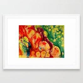 RED CORAL 2 Framed Art Print
