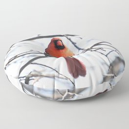 Papa Cardinal 2020 Floor Pillow