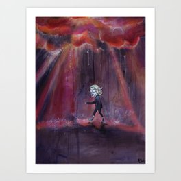 Out of Nowhere Art Print