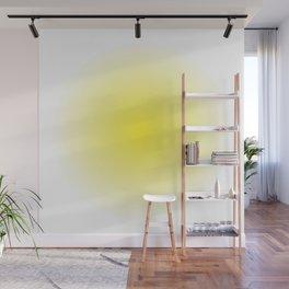 Yellow Spray Wall Mural