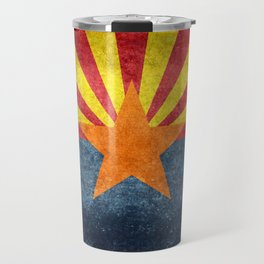 Arizona state flag - vintage retro style Travel Mug