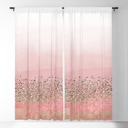Pink Moroccan Princess Blackout Curtain