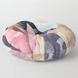 Mauve Peaks Floor Pillow