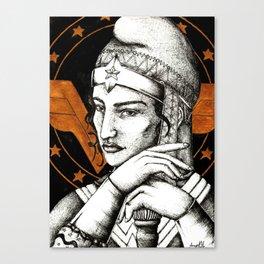 Cap of wonder Canvas Print