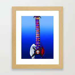 Fusion Keyblade Guitar #171 - Skull Noise & Way to the Dawn Framed Art Print