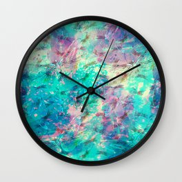 abstract dragonflies Wall Clock
