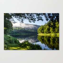 The River's Reflection Canvas Print