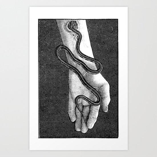 Parasite Art Print