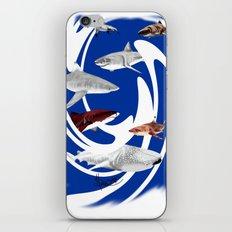 Sharks. iPhone & iPod Skin