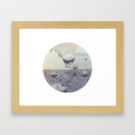 your girl - tourist Framed Art Print