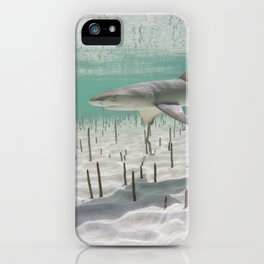 In The Middle iPhone Case