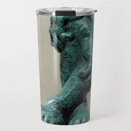 Green Organs by Shimon Drory Travel Mug