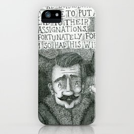 The Previous Loves Of Richard Burnsborough iPhone Case