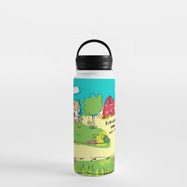 Funny Farm Water Bottle