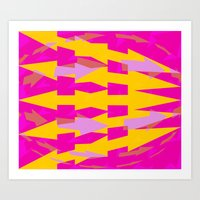 arrows Art Prints featuring ARROWS by Latidra Washington