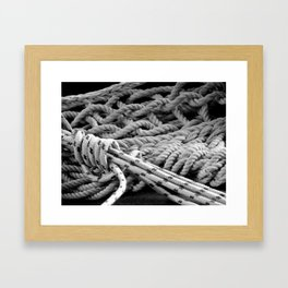 ...all tied up in knots Framed Art Print