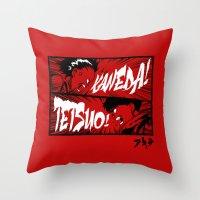 akira Throw Pillows featuring Akira! by Demonigote