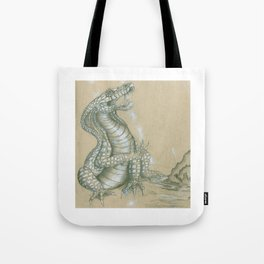 Dragon's Laugh Tote Bag