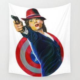Peggy Carter Wall Tapestry
