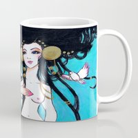 venus Mugs featuring Venus by Leilani Joy
