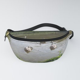 SWANS ON THE LAKE  Fanny Pack