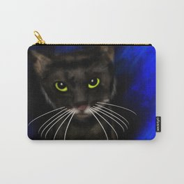 Dark Kitty Carry-All Pouch