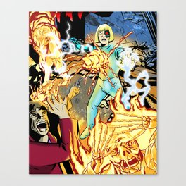 GUEST FROM THE FUTURE Canvas Print