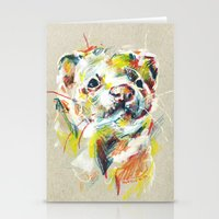 ferret Stationery Cards featuring Ferret I by Nuance