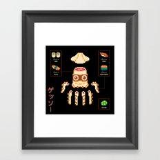 ゲッソー (Gesso) Framed Art Print