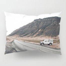 Hitting an icelandic Road Pillow Sham