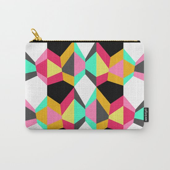 Geometric#18 Carry-All Pouch
